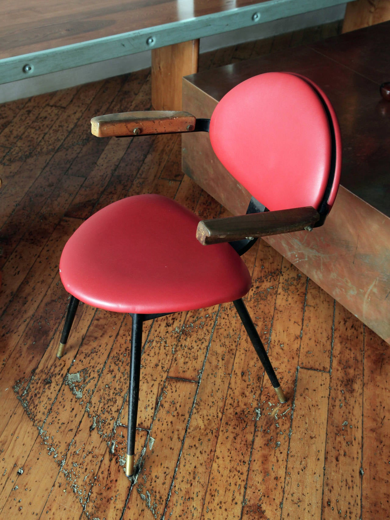 "Italian Carlo Mollino ""Lutrario"" Armchair For Sale"