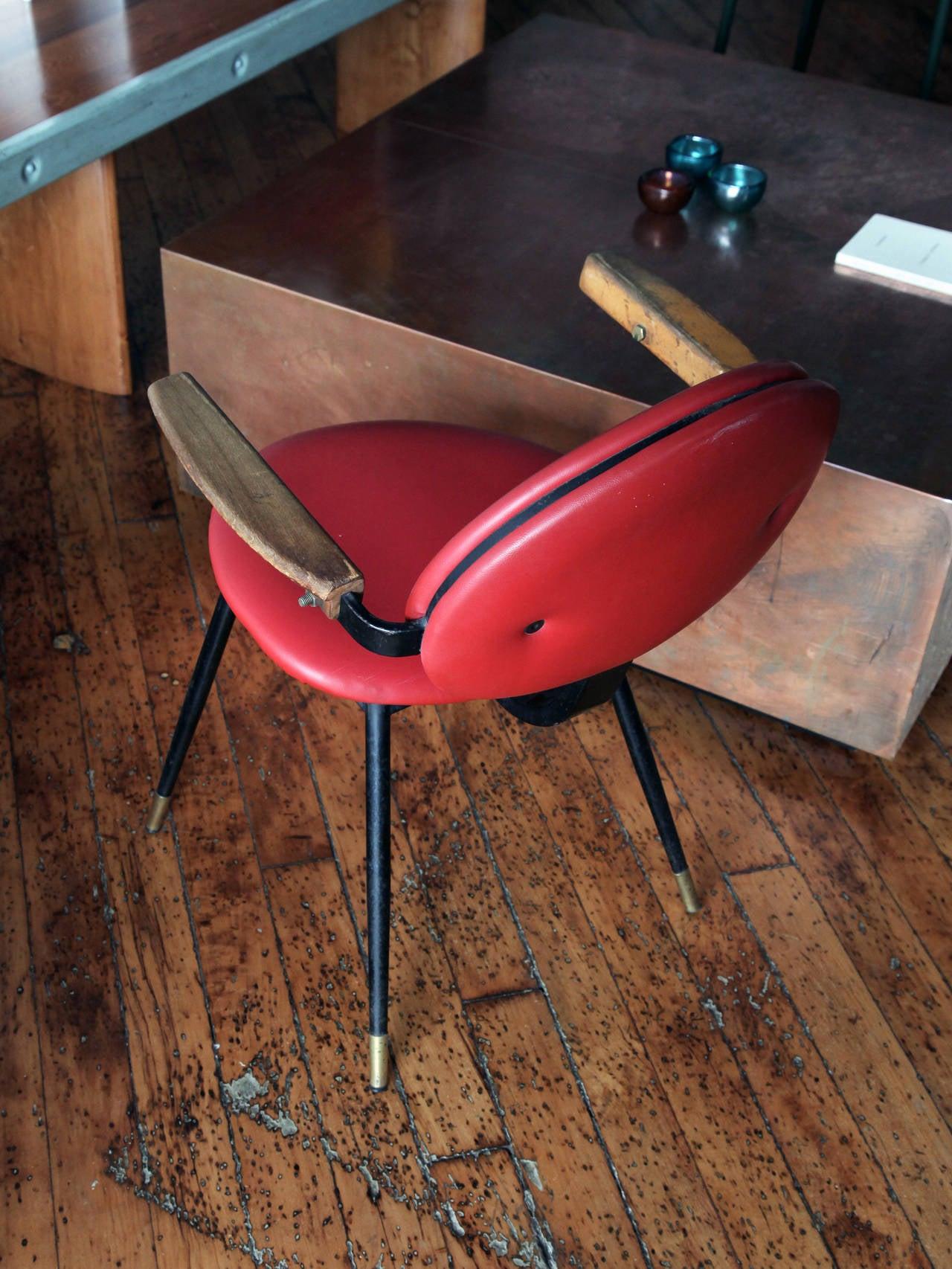 "Mid-Century Modern Carlo Mollino ""Lutrario"" Armchair For Sale"