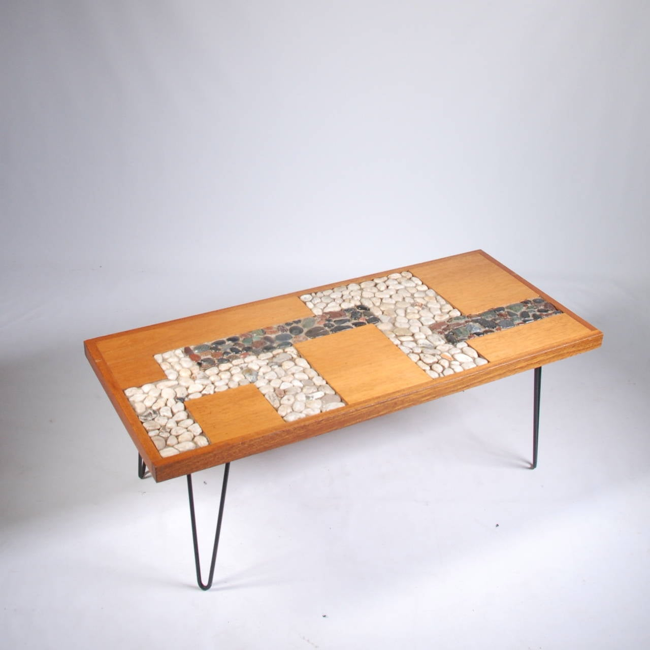 Mid century palm springs modern mahogany coffee table at for Palm springs modern furniture