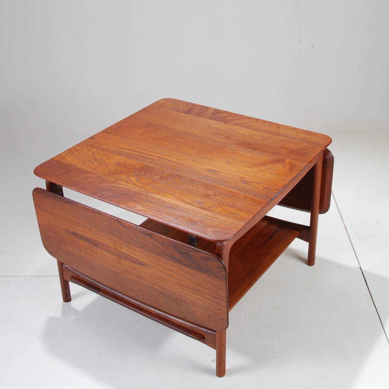 This Is A Solid Teak Master Piece By Peter Hvidt For John Stuart The Drop