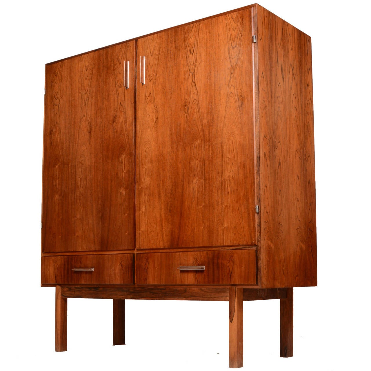 mid century cabinet mid century modern rosewood bar cabinet at 1stdibs 23319