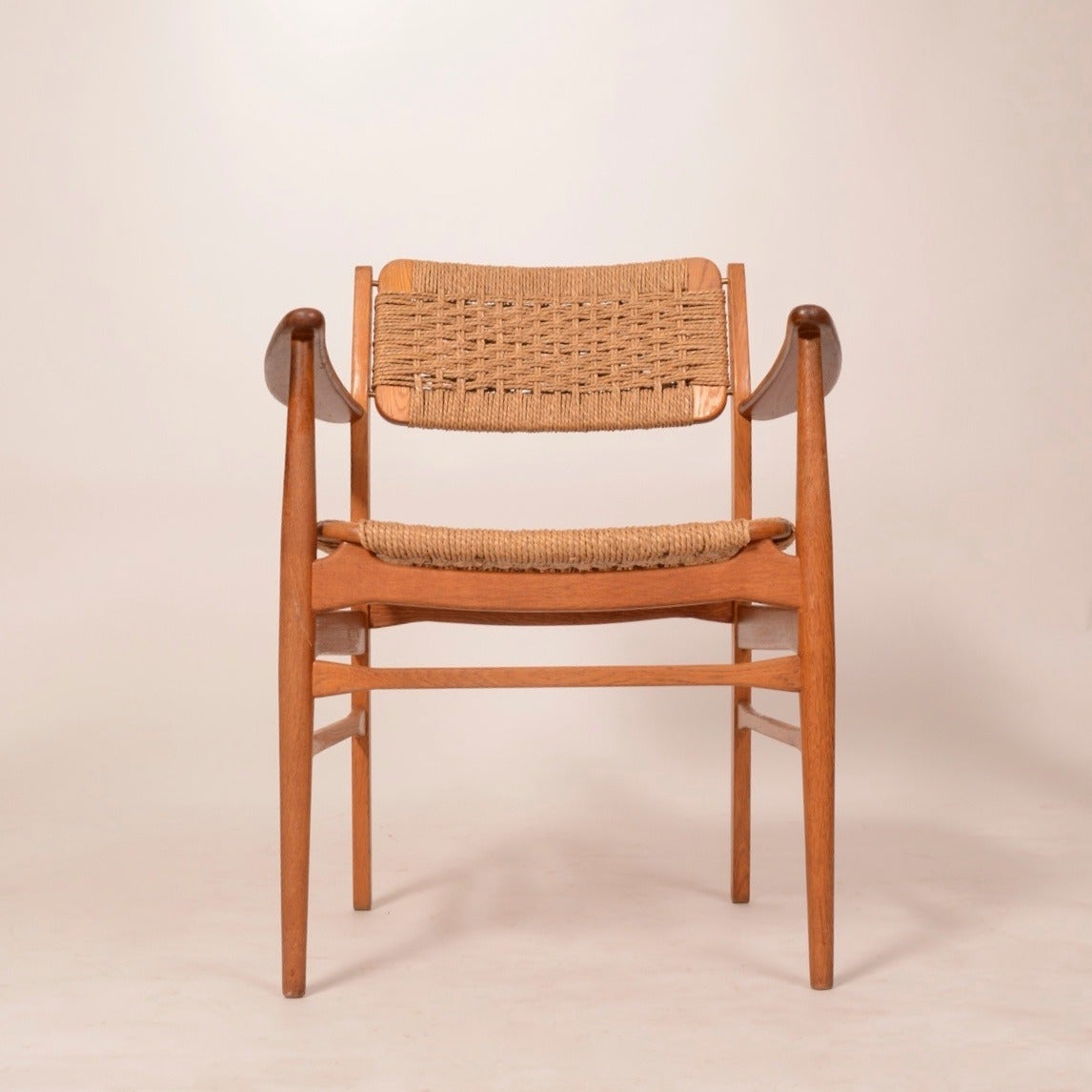 Four dining chairs in teak and oak by torben strandgaard for G furniture tuam road galway