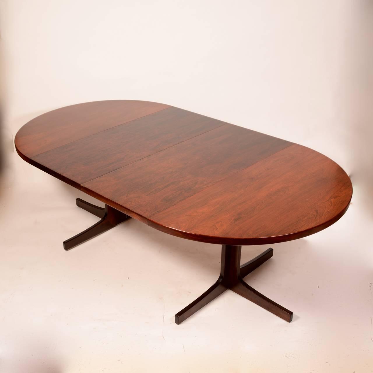 Mid-Century Modern Skovmand & Andersen for Moreddi Rosewood Dining Table 5
