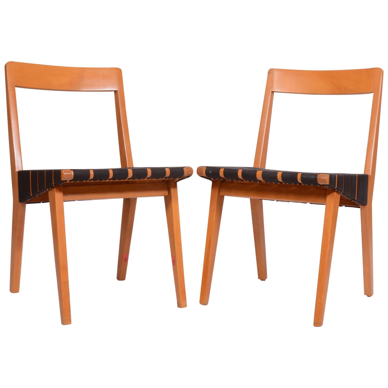 Jens Risom Side Chair Pair Of Jens Risom 666 Side Chairs For Knoll For Sale At 1stdibs
