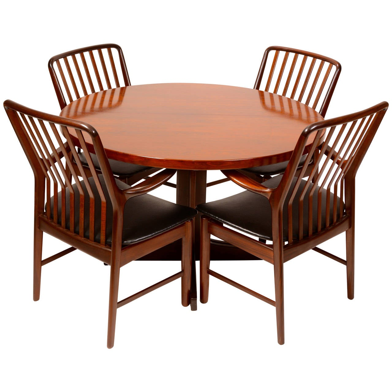 Rosewood Dining Table Mid Century Modern Skovmand And Andersen For Moreddi Rosewood