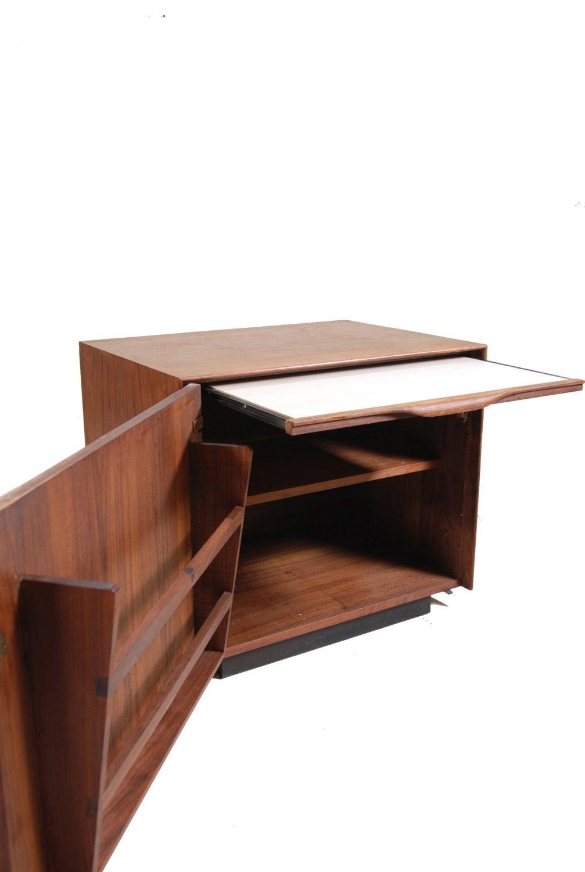 American Modern John Kapel Bar Cabinet for Glenn of California For Sale