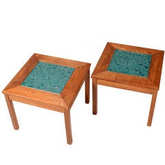 John Keal for Brown Saltman Constellation End Tables