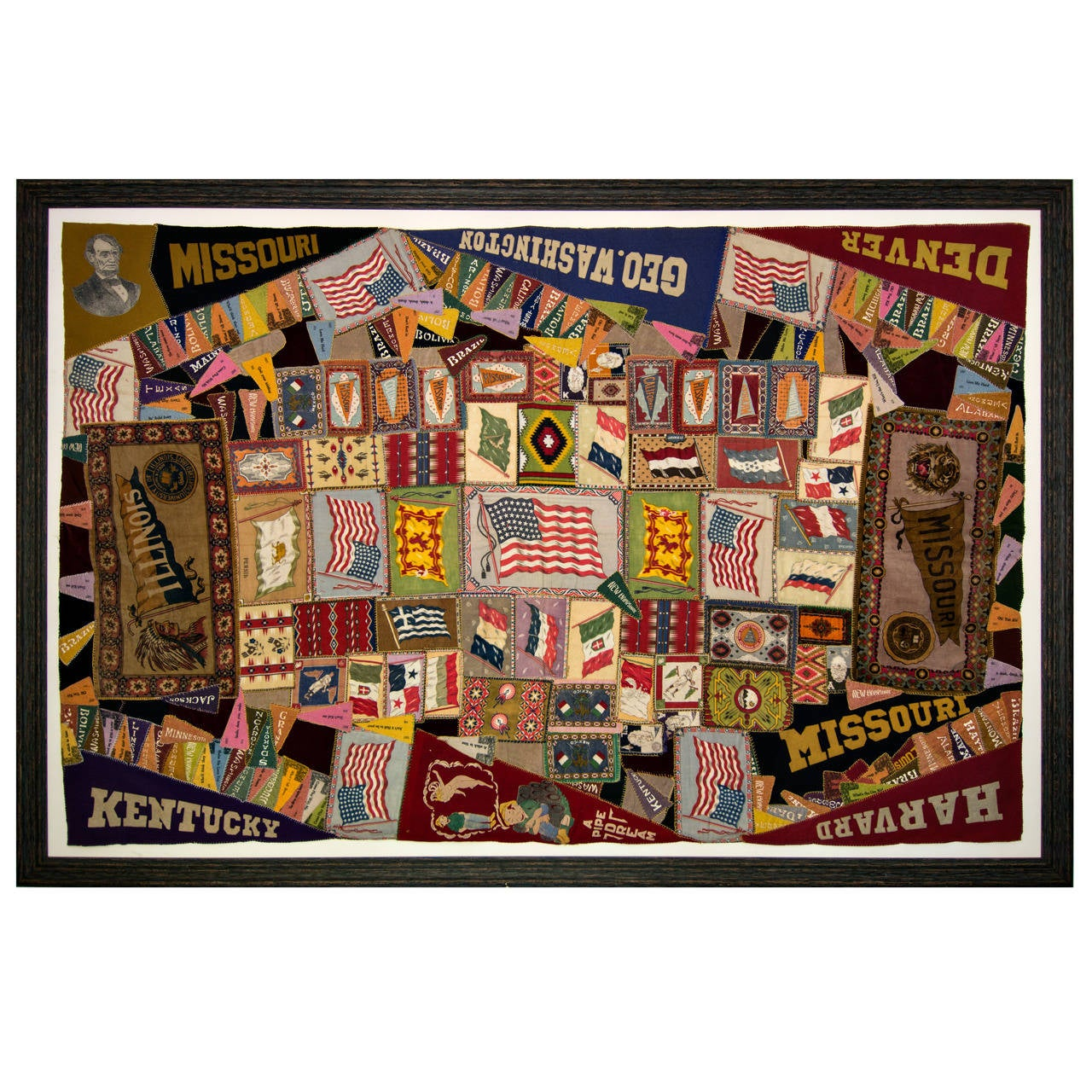 Souvenir Memory Quilt For Sale
