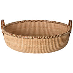 Nantucket Lightship Basket Serving Tray by Lucille LaRochelle