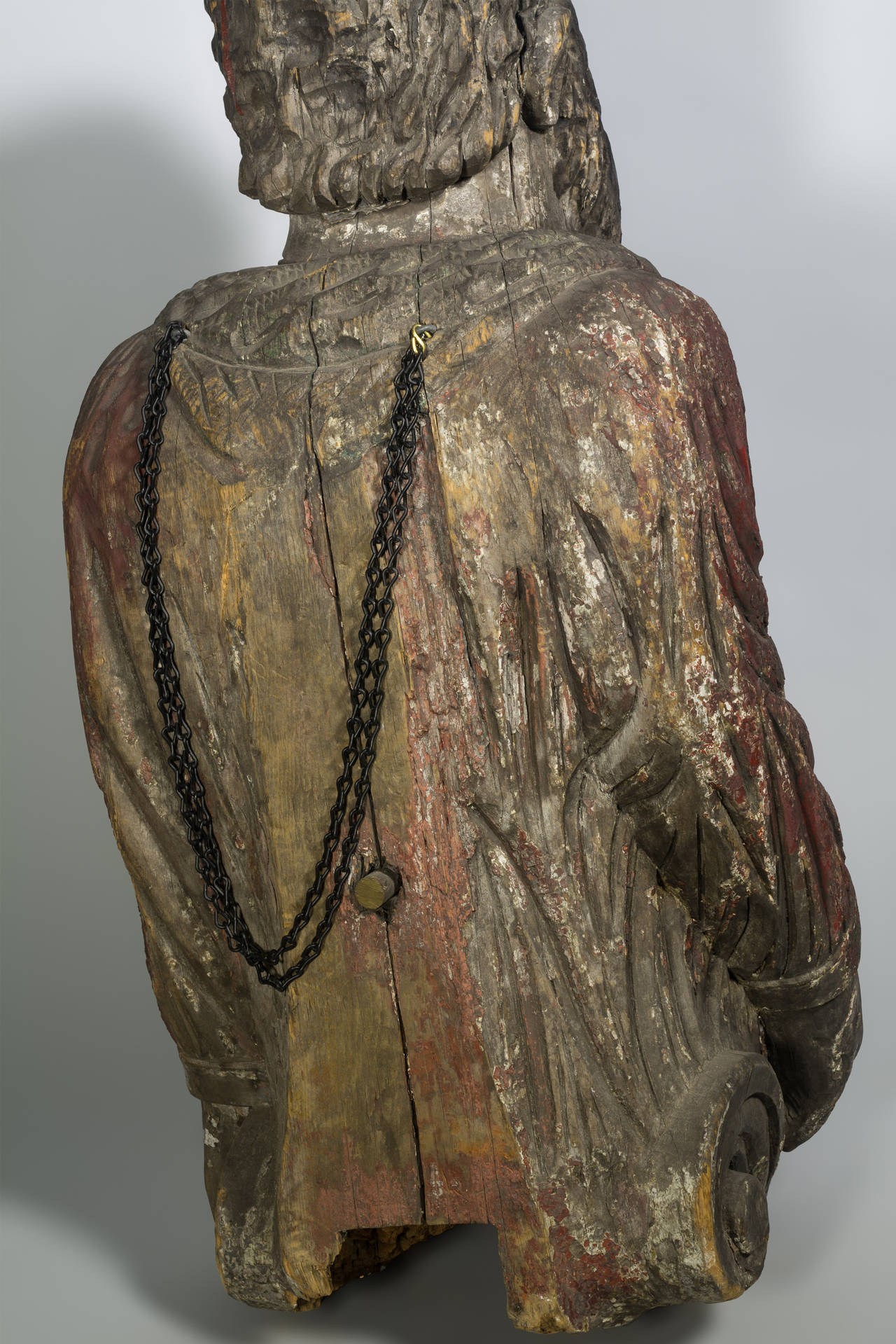 Folk Art Authentic American 19th Century Figurehead For Sale