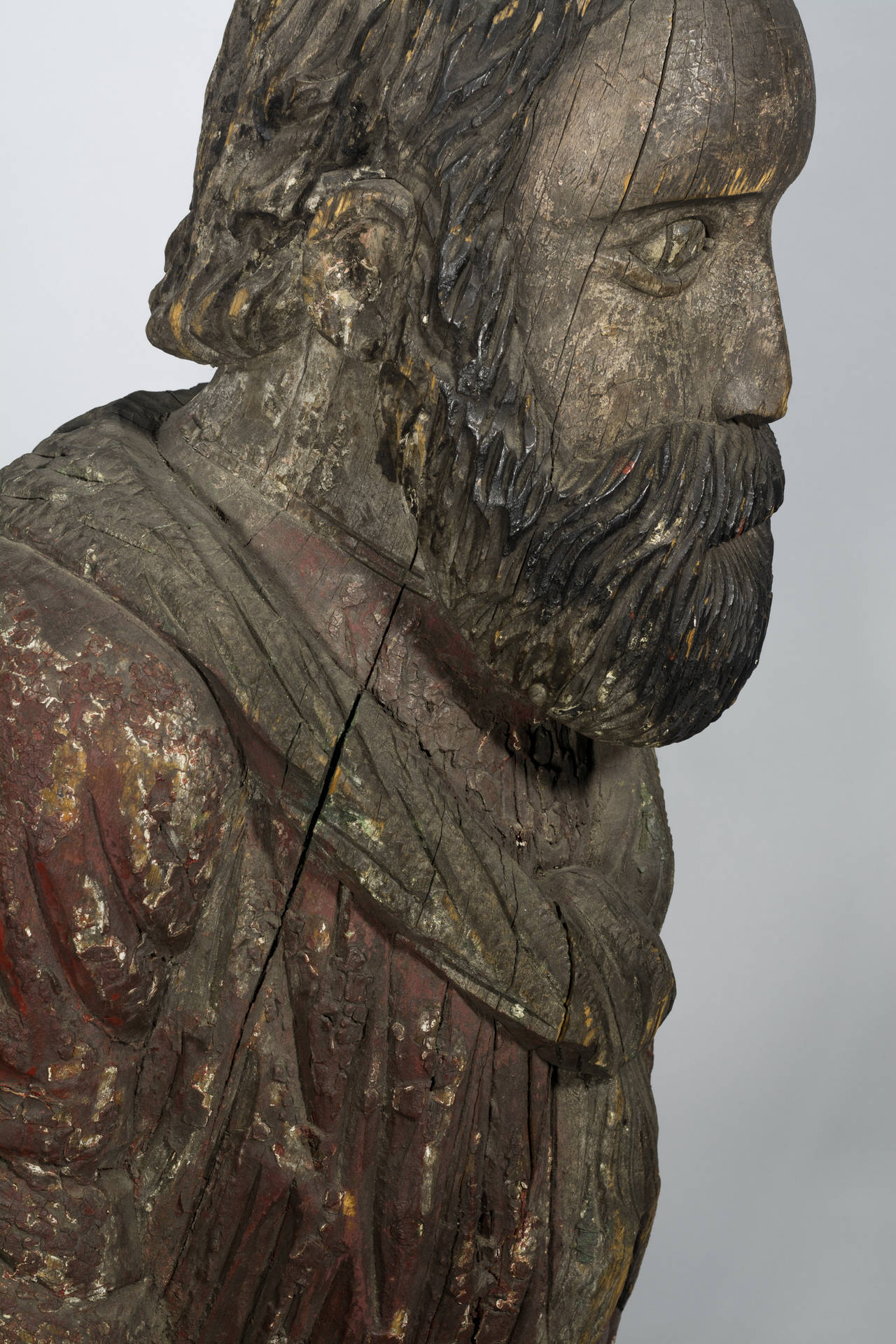 Mid-19th Century Authentic American 19th Century Figurehead For Sale