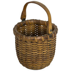 Nantucket Lightship Basket Attributed to C. Mitchy Ray, circa 1940