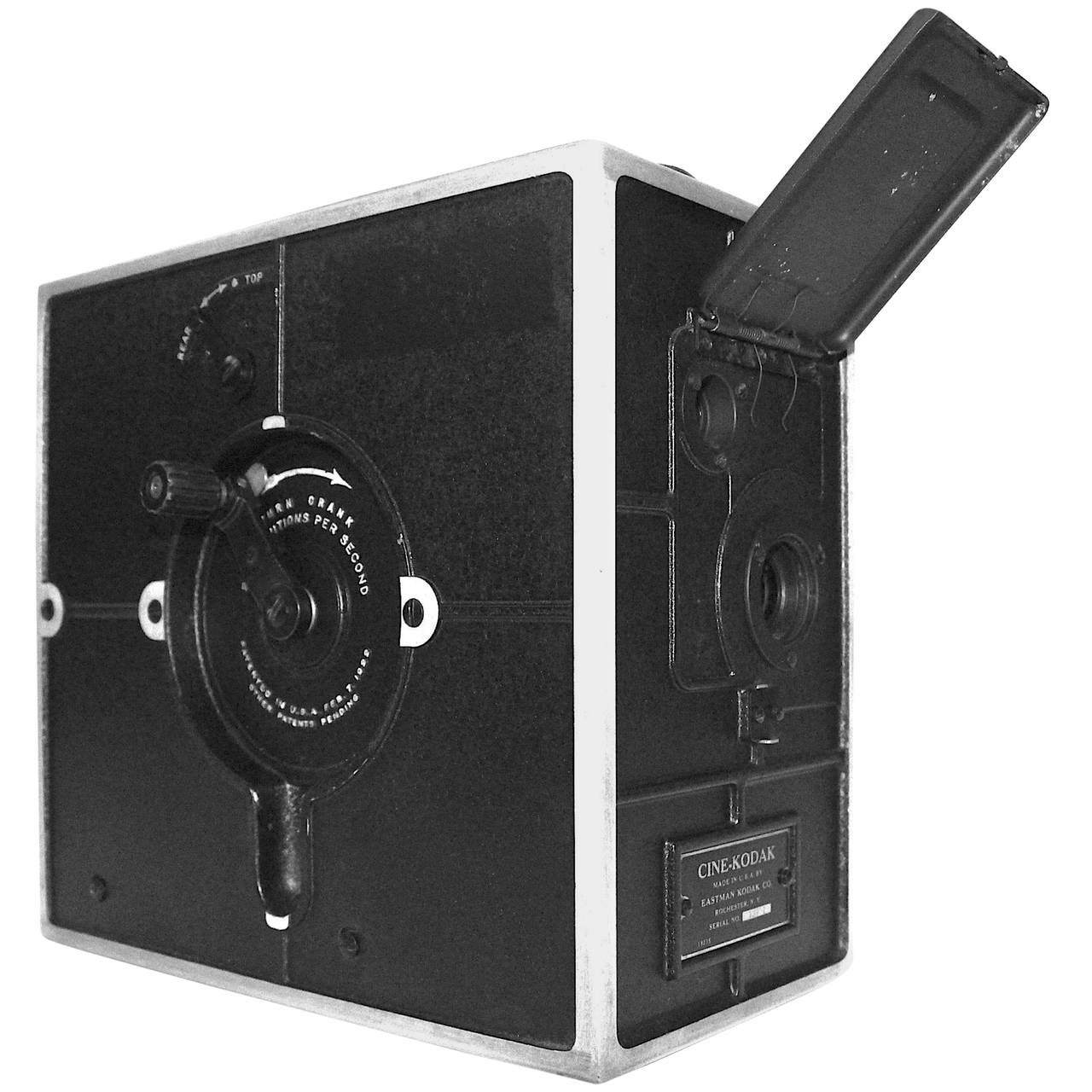 Eastman Cine Kodak Hand Cranked 1st 16mm Camera Model, Circa 1923. As Sculpture.