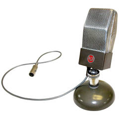 RCA Vintage Studio Microphone, Original, Iconic, circa 1930, as Sculpture