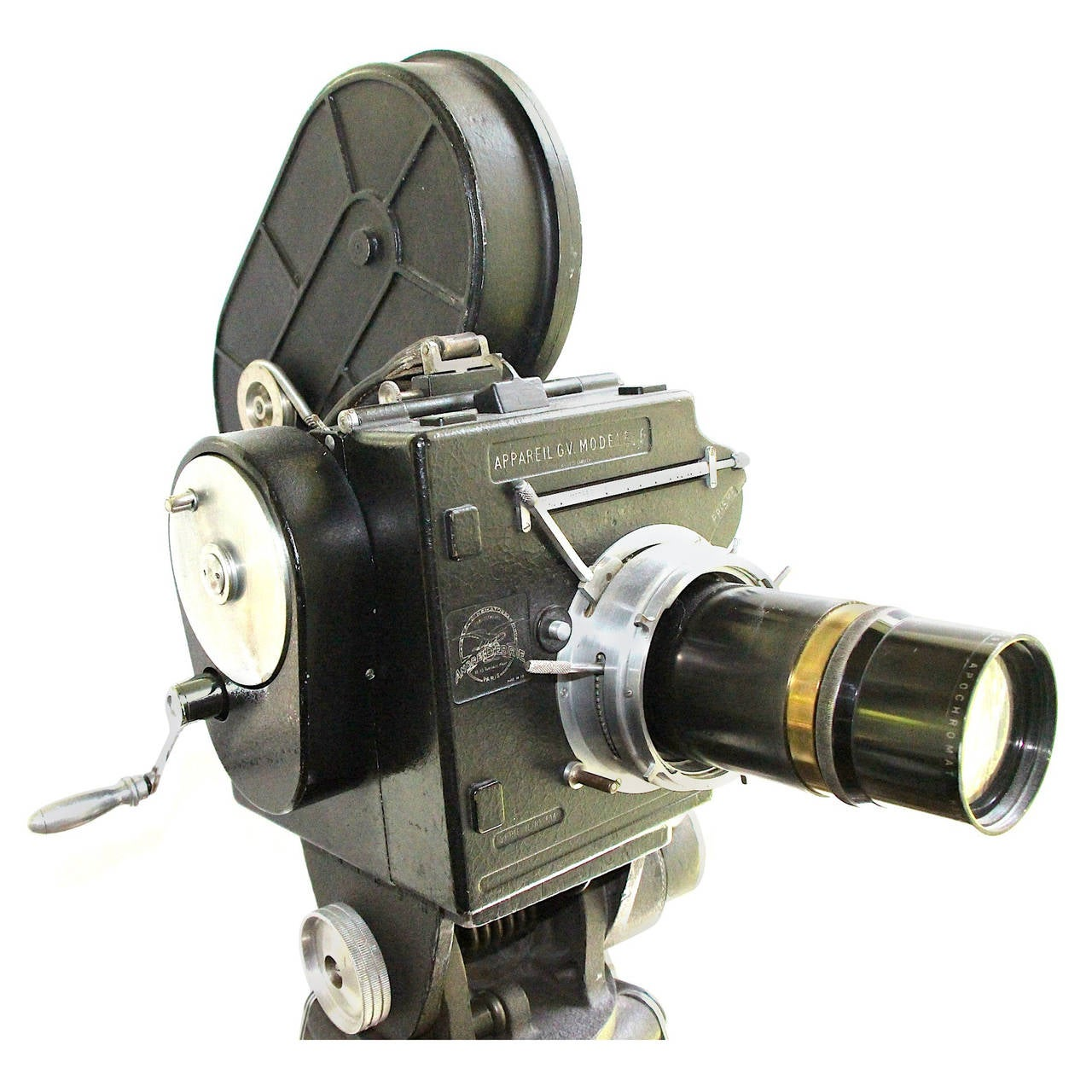 Andre Debrie 35mm Cinema Camera, circa 1925 Complete, Working as Sculpture