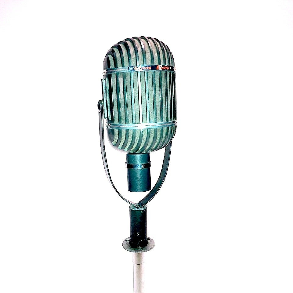 Art Deco Vintage Western Electric 639b Iconic Microphone