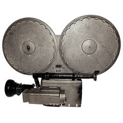 Auricon Cinema Newsreel Camera, Complete and Working. As Sculpture, Circa 1955.