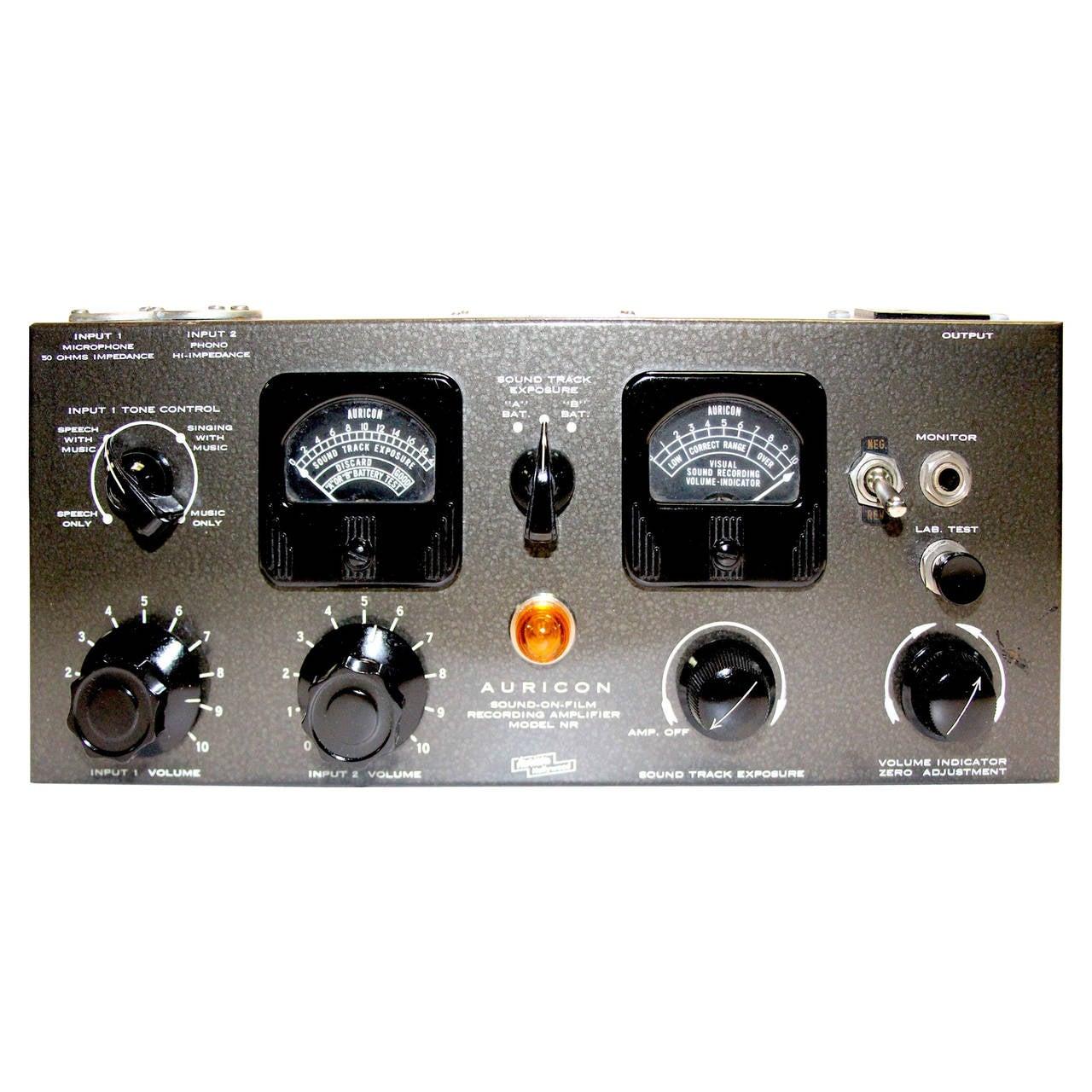 Auricon Sound on Film Optical Sound Recording Cinema Amplifier NR-24, Circa 1949