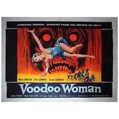 """Voodoo Woman"" Original Movie Poster, circa 1957"