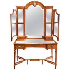 Louis XVI Satinwood Dressing Table