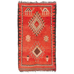 Vintage Oulad Bou Sebaa or Rehamna Rug, Morocco