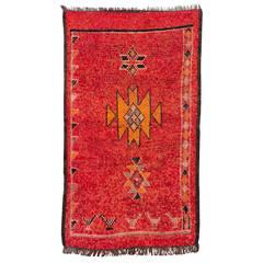 Vintage Rehamna Rug, Morocco