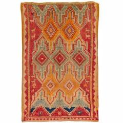 Vintage Ait Bougemmaz or Azilal  Moroccan Rug