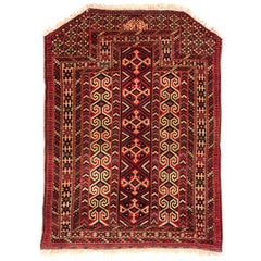 Horse Cloth Antique  Bokara Turkoman Yomuth, also wall hanging