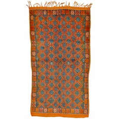 Light Blu  Moroccan Vintage Carpet