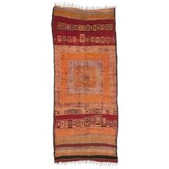 Rare Large Vintage Moroccan Rug