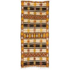Vintage Ait Ouagharda Moroccan Rug
