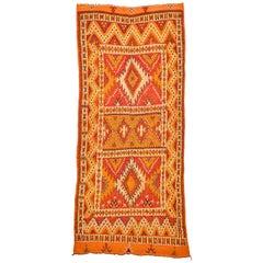 Vintage Ait Ounouzouite Moroccan Rug