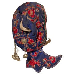 Chinese Old Child Bonnet
