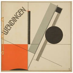 Wendingen, Frank Lloyd Wright issue with Lithographic Design by El Lissitzky