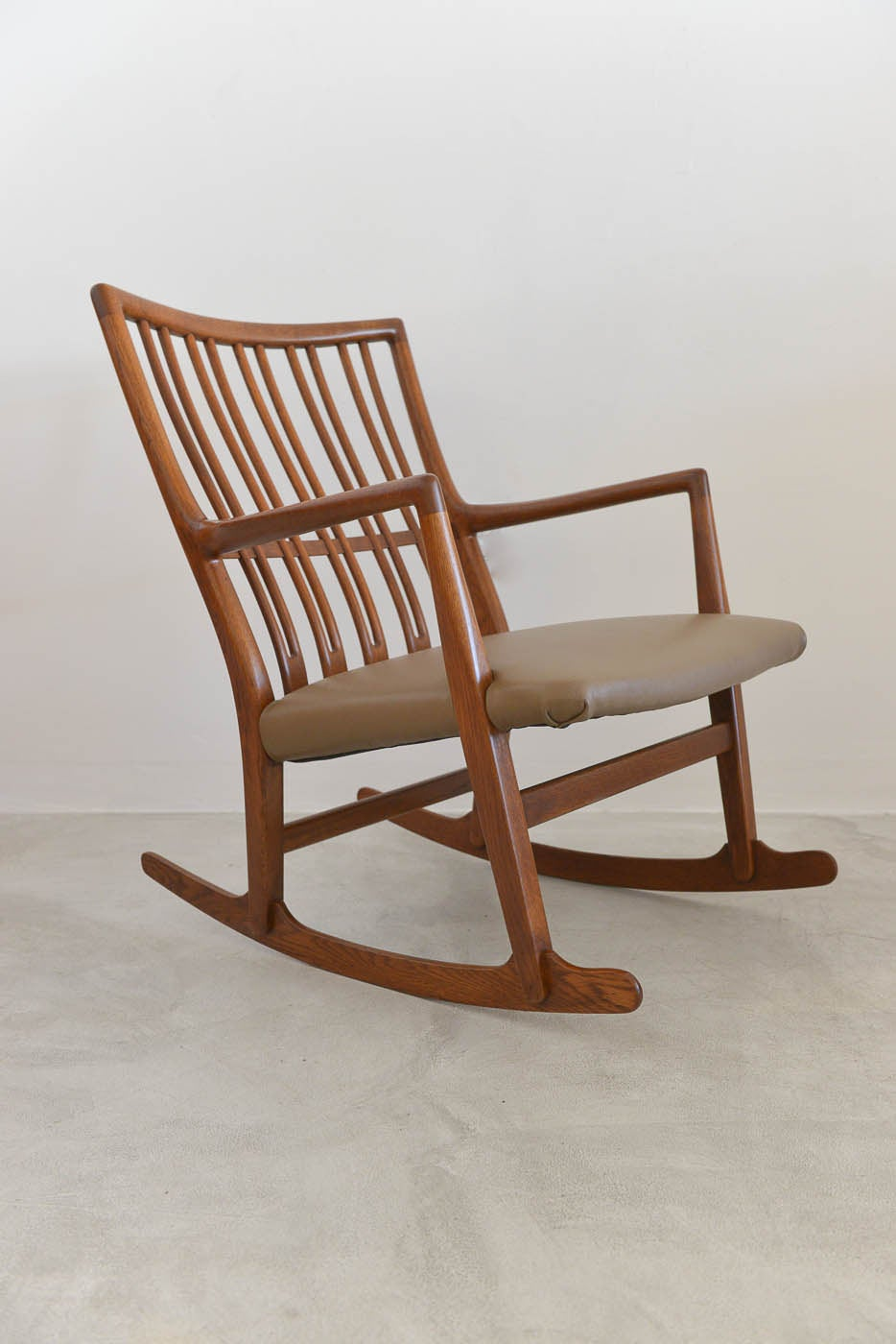 This Rare Hans Wegner for Mikael Laursen ML-33 Rocking Chair is no ...