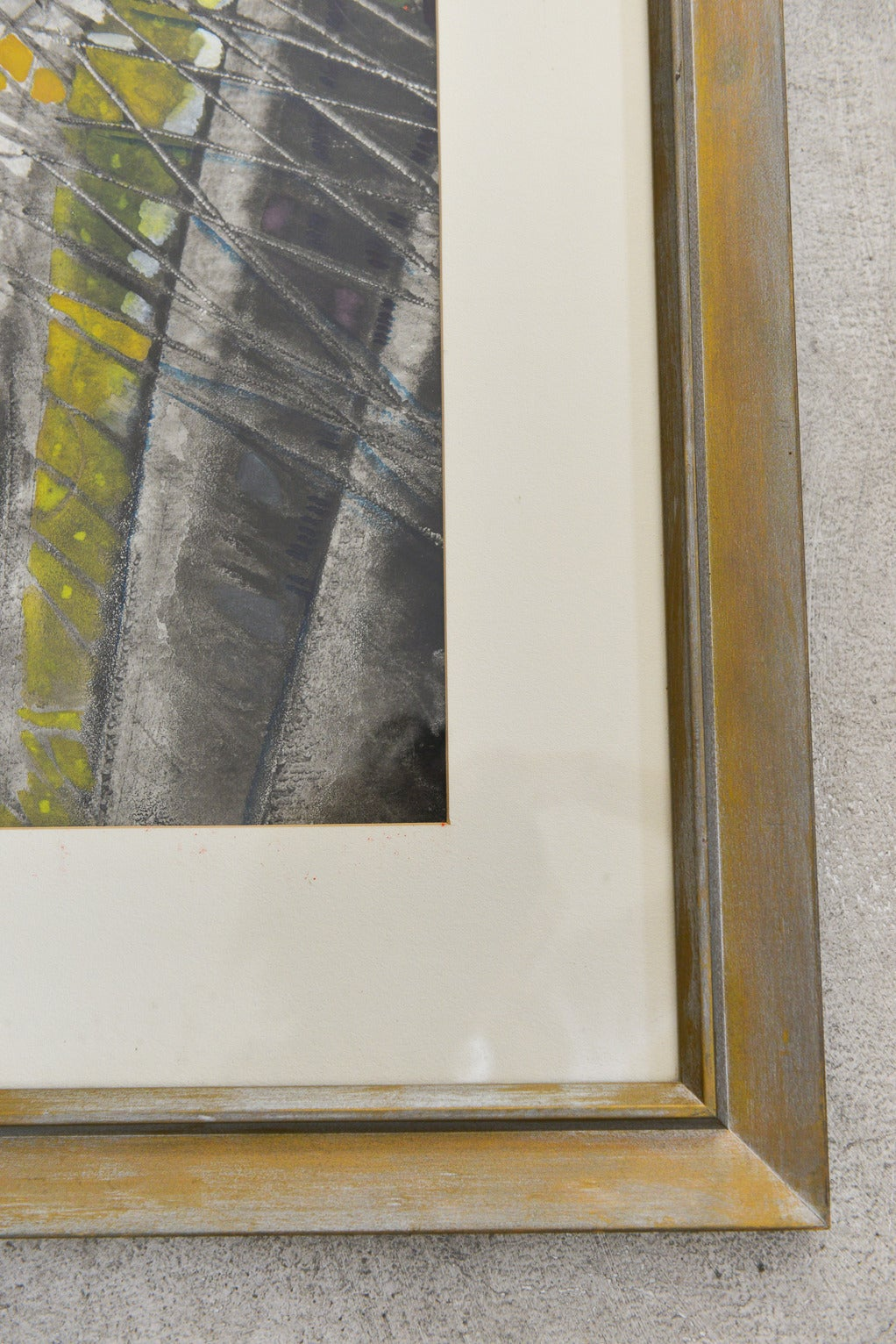American Original Abstract Watercolor by Emily B. Johnson '61 For Sale
