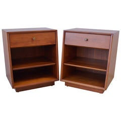 Pair of Kipp Stewart for Drexel Side Tables or Nightstands