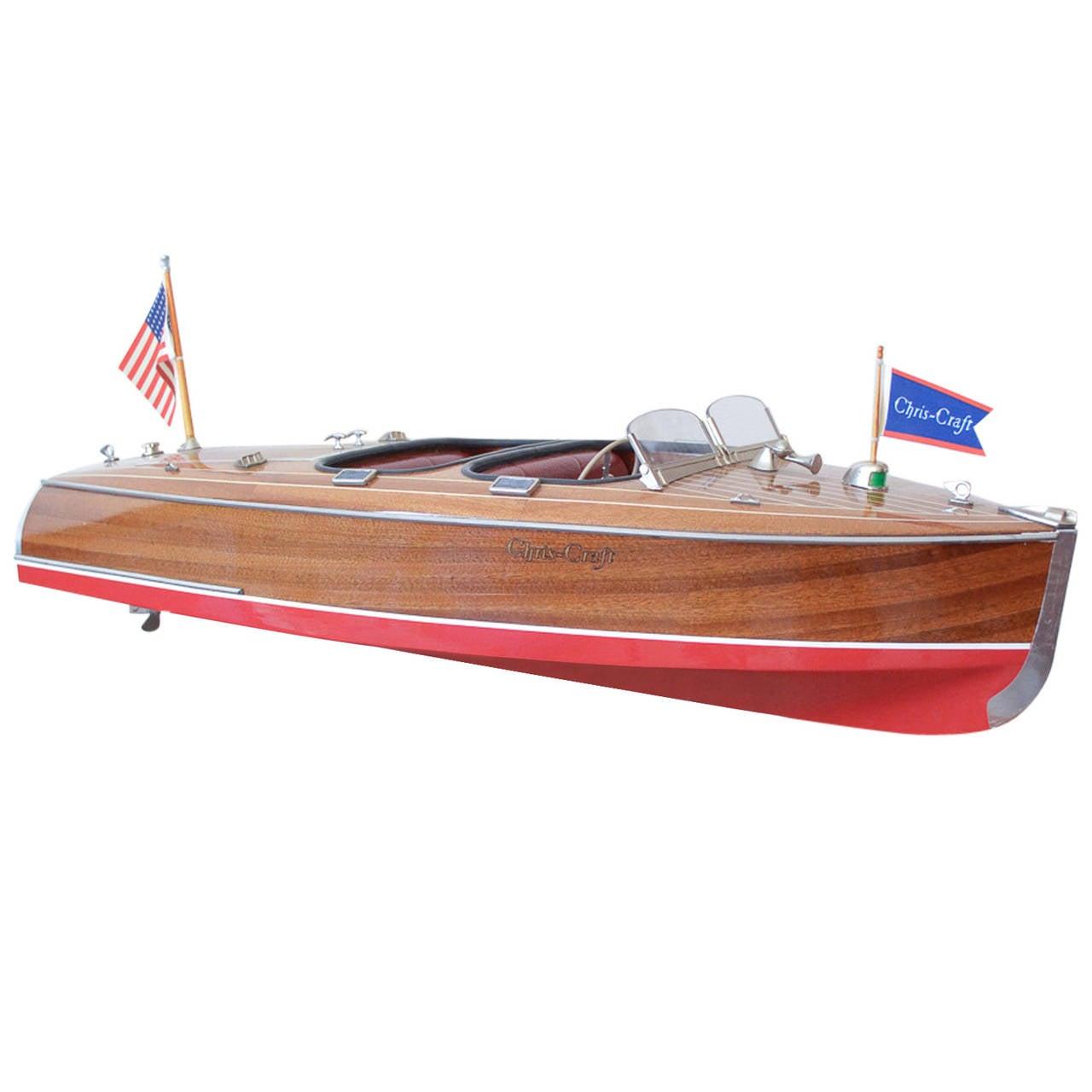 vintage 1950s chris craft model boat at 1stdibs On vintage chris craft models
