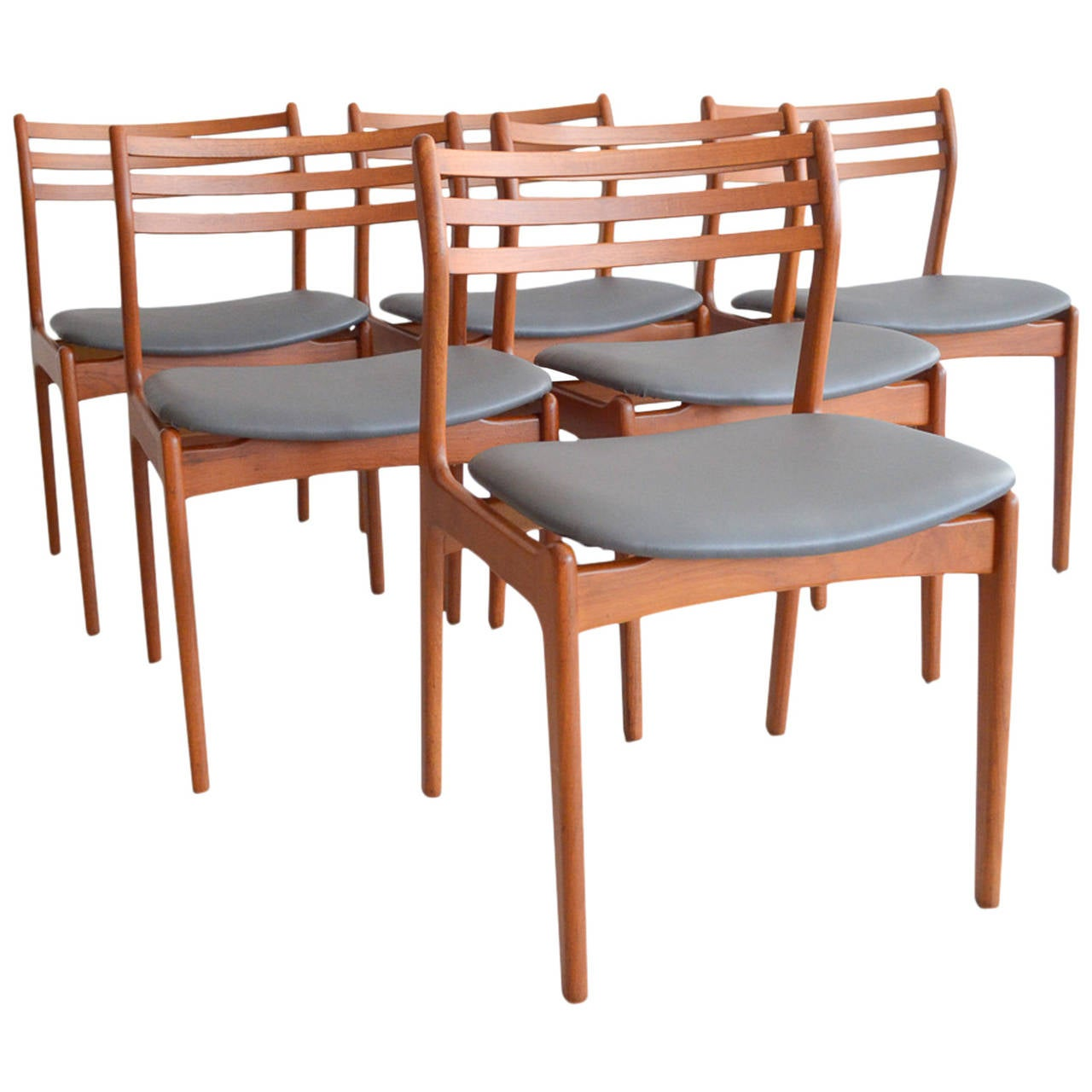 p. e. jørgensen farso stolefabrik dining chairs for sale at 1stdibs