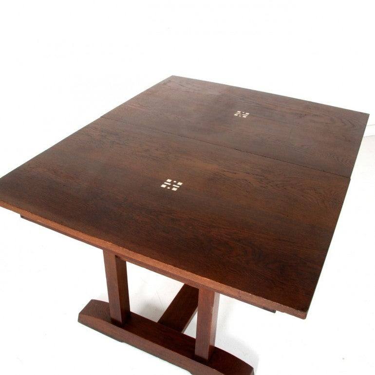 arts and crafts oak dining table circa 1910 for sale at arts and crafts dining table at 1stdibs