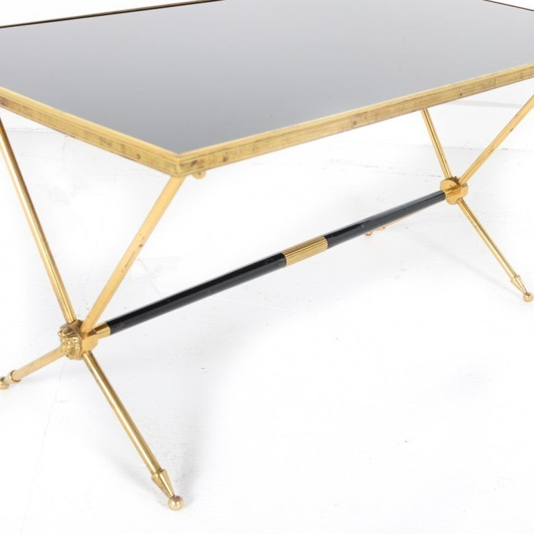 Vintage Brass Lion Coffee Table 3 - Vintage Brass Lion Coffee Table At 1stdibs