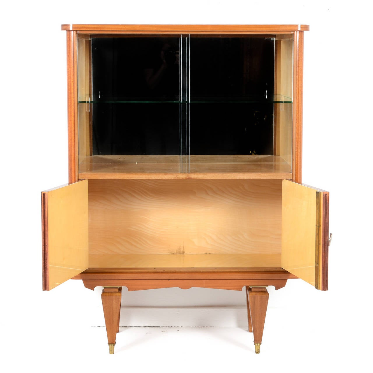 Mid-Century Modern Bar Cabinet from Paris Circa 1950 3