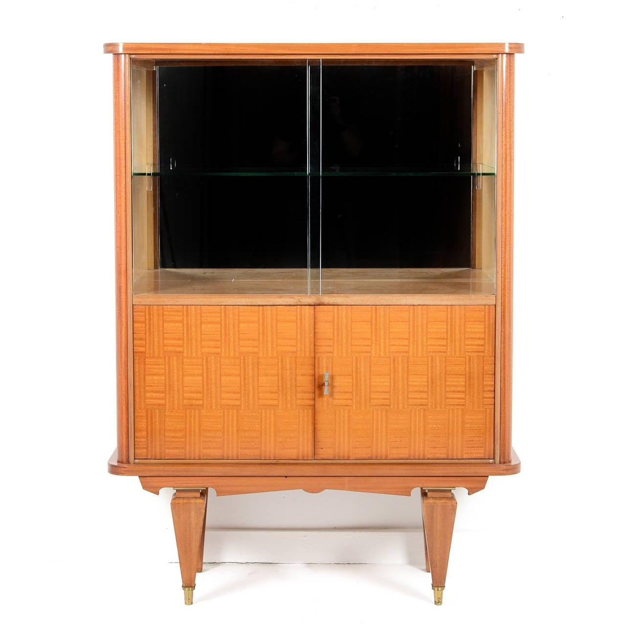 mid century modern bar cabinet from paris circa 1950 at 1stdibs. Black Bedroom Furniture Sets. Home Design Ideas