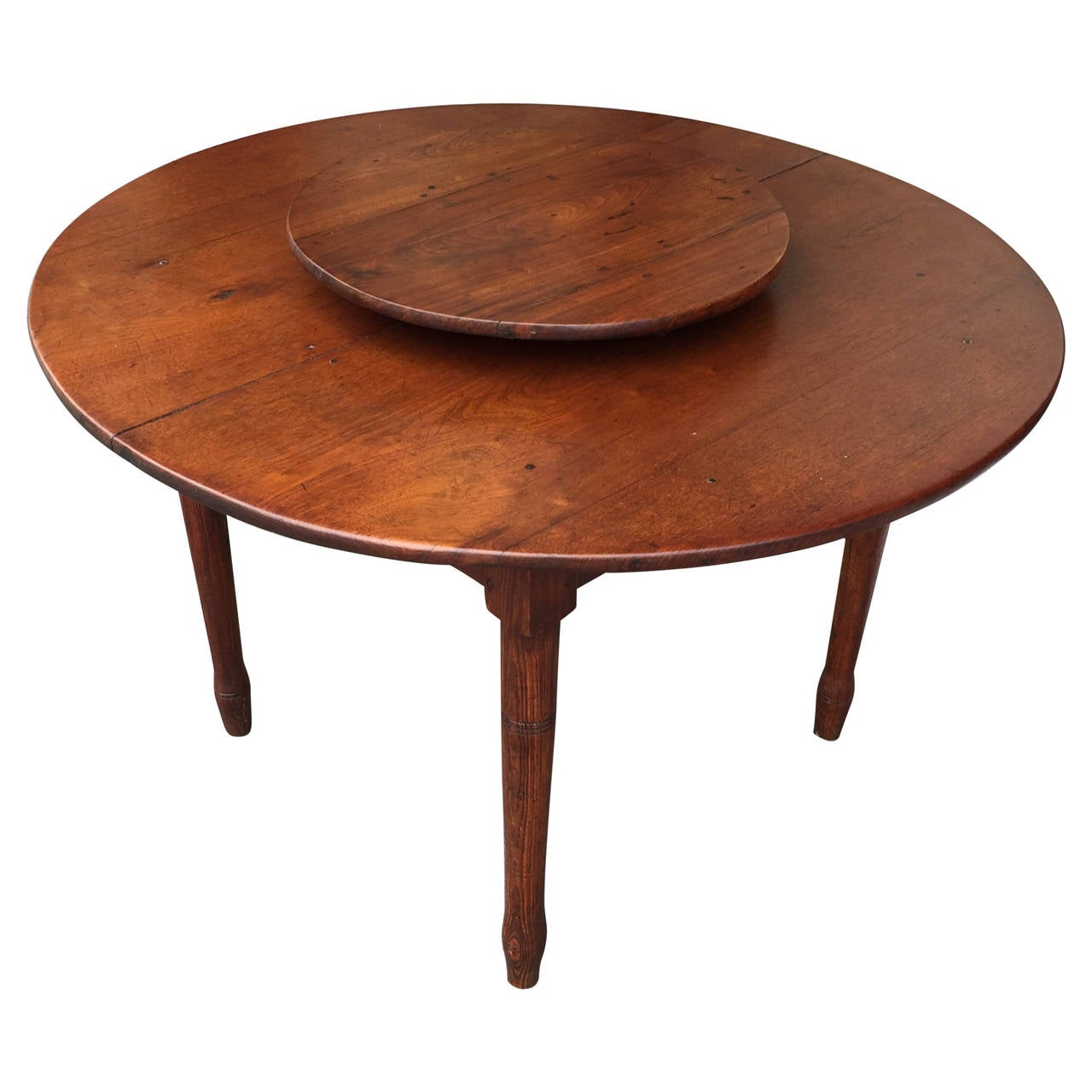 American Southern Lazy Susan Dining Table Circa 1830 At