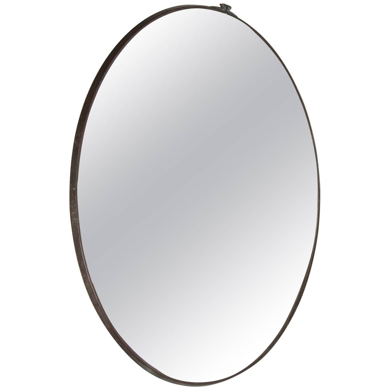 Large Parabolic Concave Mirror At 1stdibs