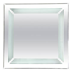 Illuminated mirror, circa 1970