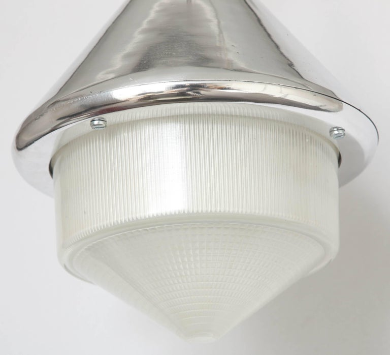 Rare Wartime Welsh Pantry Lights In Excellent Condition For Sale In New York, NY