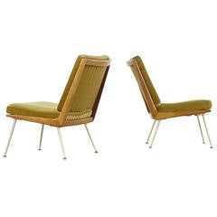 Two Hans Mitzlaff Boomerang Easy Chairs for Eugen Schmidt Soloform, 1953