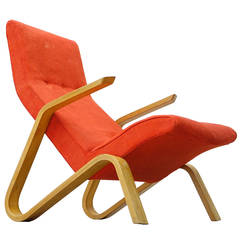 Eero Saarinen for Knoll International 1946 Grasshopper, Lounge Easy Chair