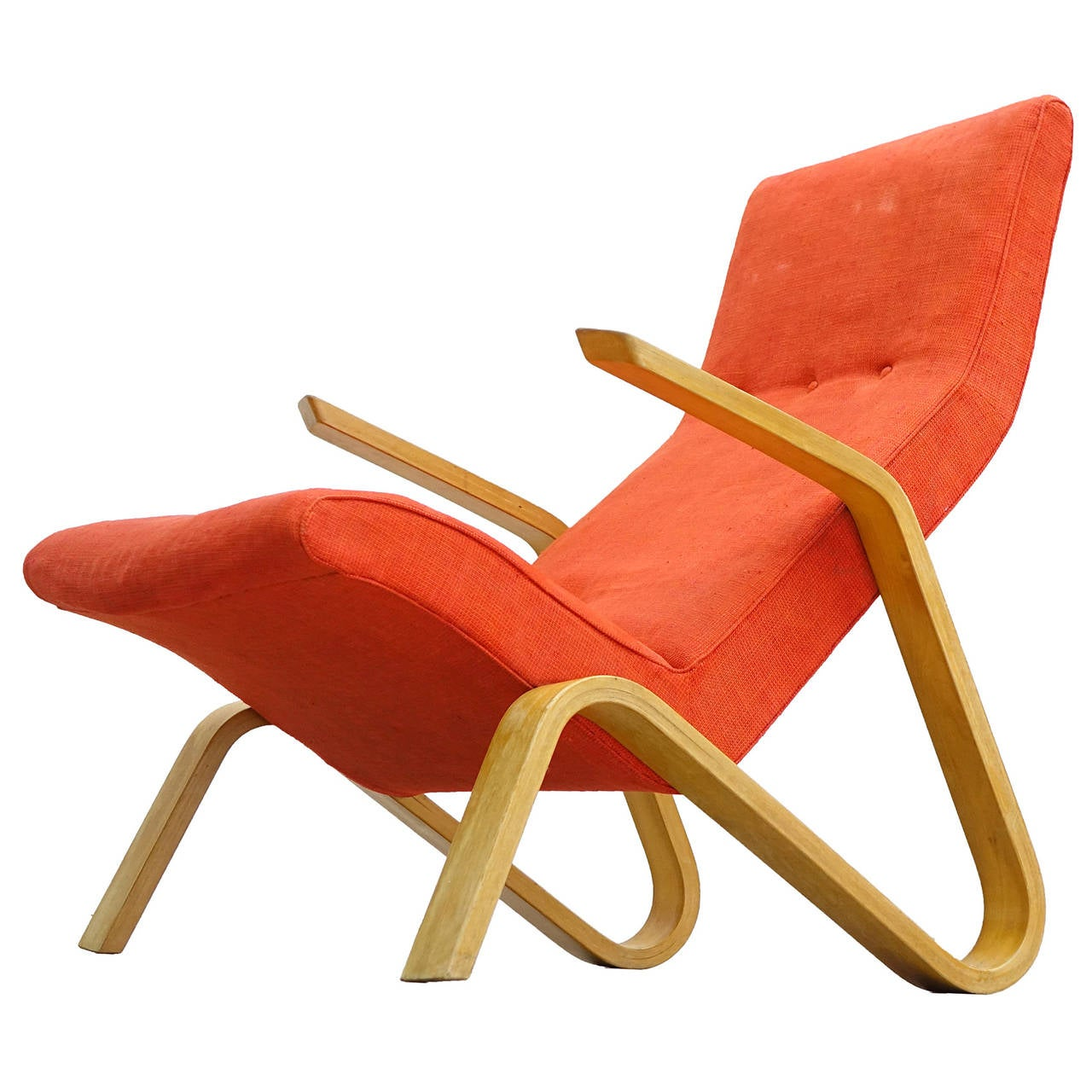 Eero Saarinen for Knoll International 1946 Grasshopper Lounge Easy Chair For Sale